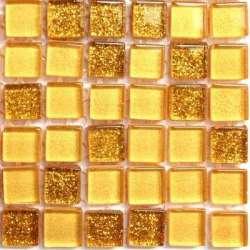 Micro pailletée or clair