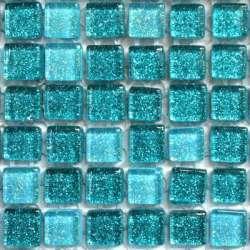 Micro pailletée turquoise