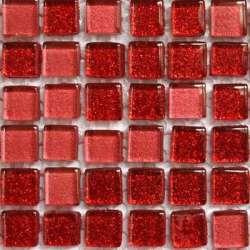 Micro pailletée rouge