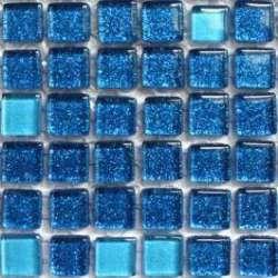 Micro pailletée bleue